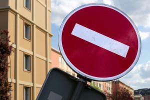 zakaz wjazdu znak