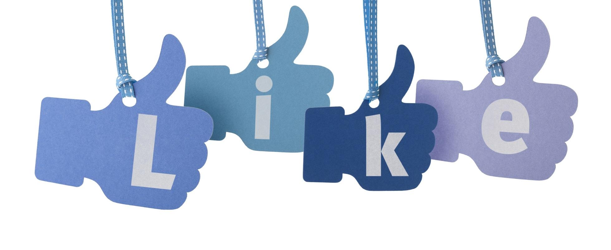 Polubienie na facebooku