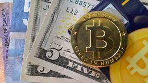 grafika z bitcoinem