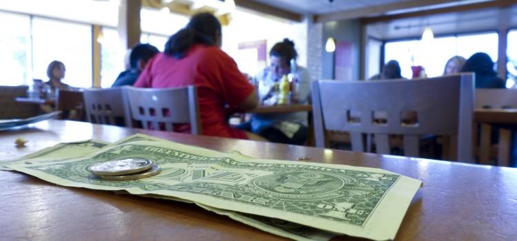 napiwek dolar