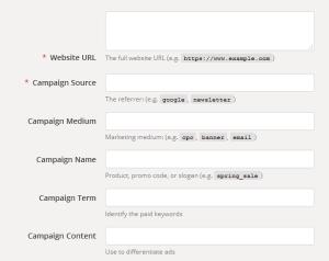 Google url builder - narzędzie do tagowania linków