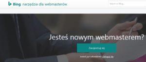 bing webmaster center - Jak dodać stronę do wyszukiwarki BING?