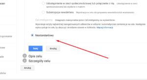 Zliczanie wybranych połączeń w Google Analytics
