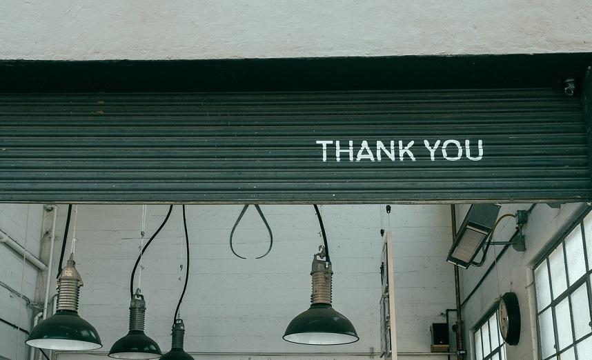 Thank you page - thank u
