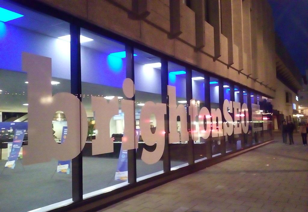 Wejście do BrightonSEO