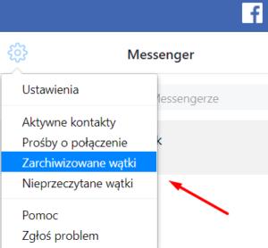 Jak odzyskać skasowane wiadomości Facebook?