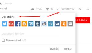 Pobieranie i udostępnianie filmów YouTube
