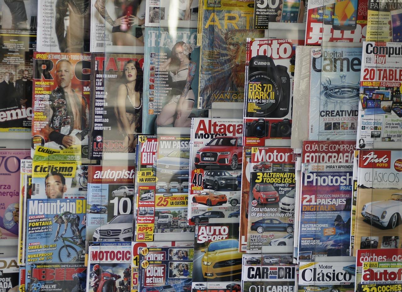 prasa w kiosku