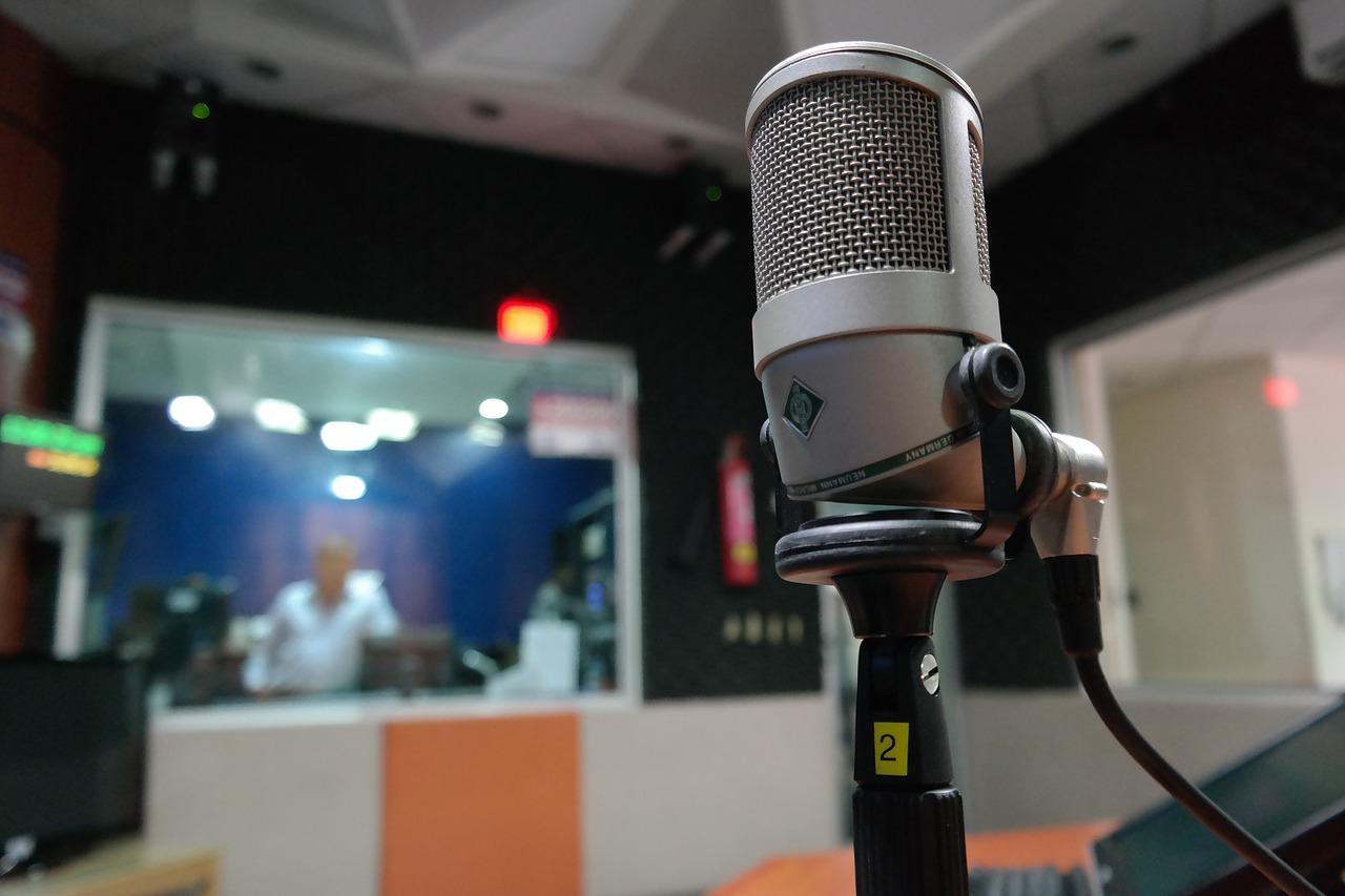 studio nagraniowe radiowe