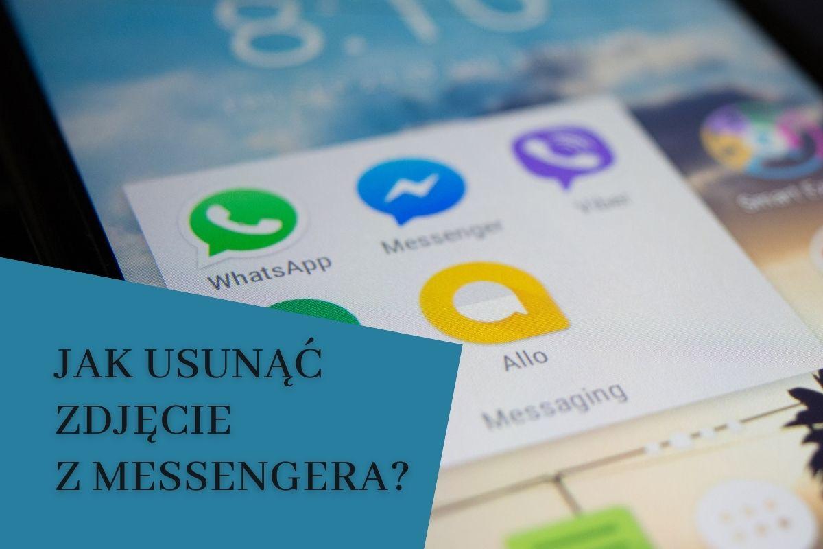 Jak usunąć zdjęcie messenger